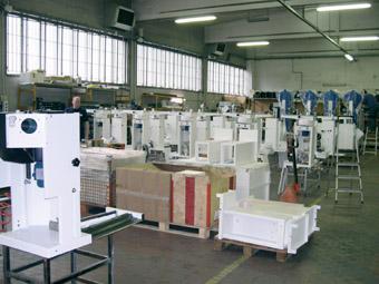 завод гладильного оборудования Ghidini